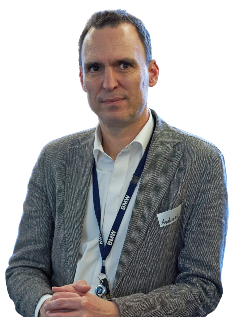 Portrait of BMW Manager Dr Andreas Bootz